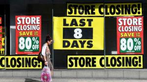 Retail Store Closures Announced